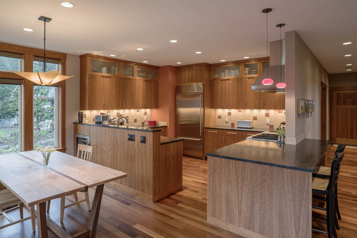 Modern Cherry Kitchen
