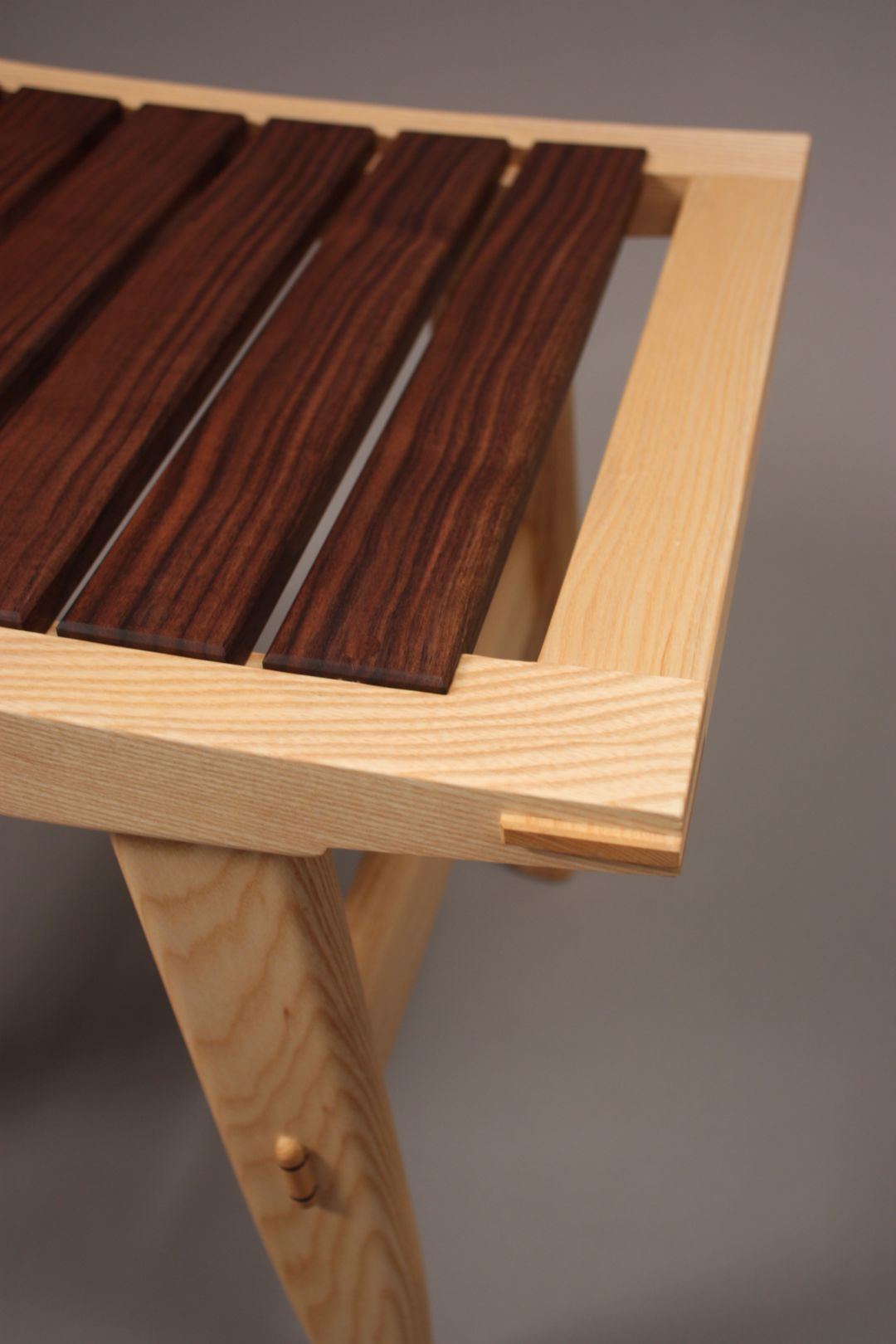 bench seat with slates